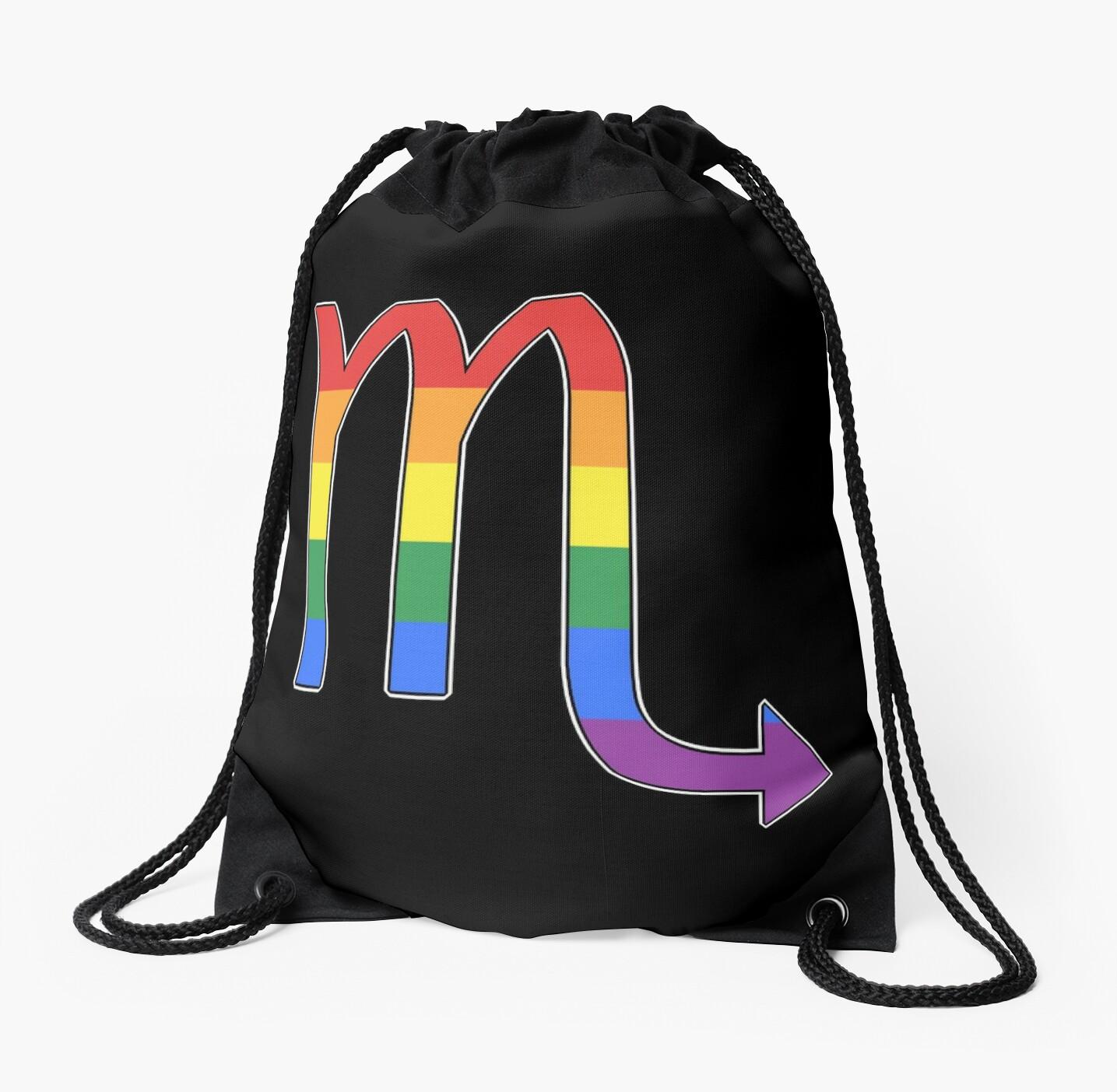 Rainbow Scorpio by porcupride