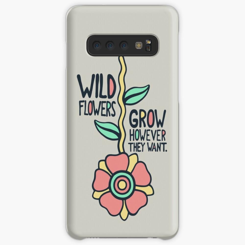 W/LDFLOWER Case & Skin for Samsung Galaxy