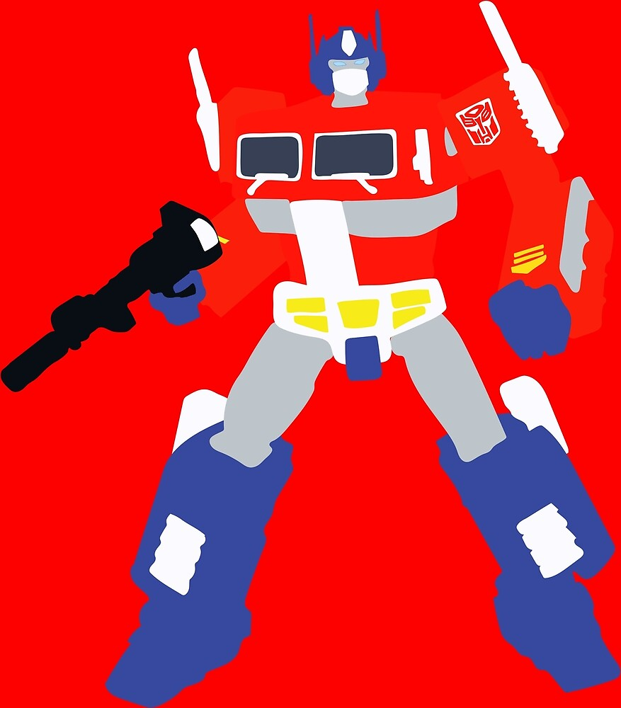 Optimus Prime Blocky <New and Improved> by Dane Flitton