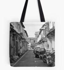 Laneway at Kampung Jawa Tote Bag
