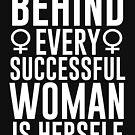 Erfolgreiche Frau von kjanedesigns