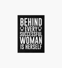 Successful Woman Art Board