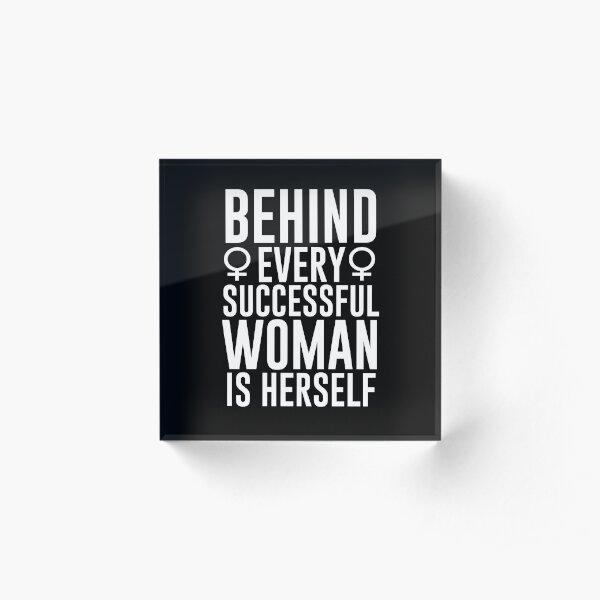 Successful Woman Acrylic Block