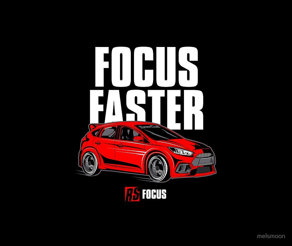 USDM-FOCUS RS!! by melsmoon