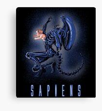 Sapiens Canvas Print