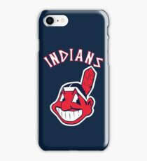 Cleveland Indians Chief Wahoo Baseball Club iPhone Case/Skin