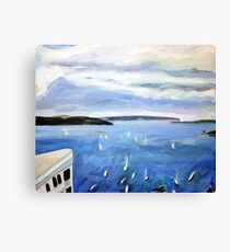Harbour 4 Canvas Print