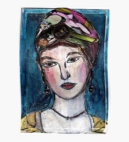 Lady In A Turban Poster