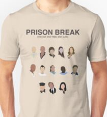 prison break tv show Unisex T-Shirt