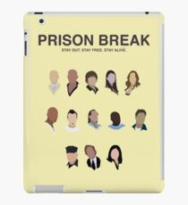 prison break tv show iPad Case/Skin