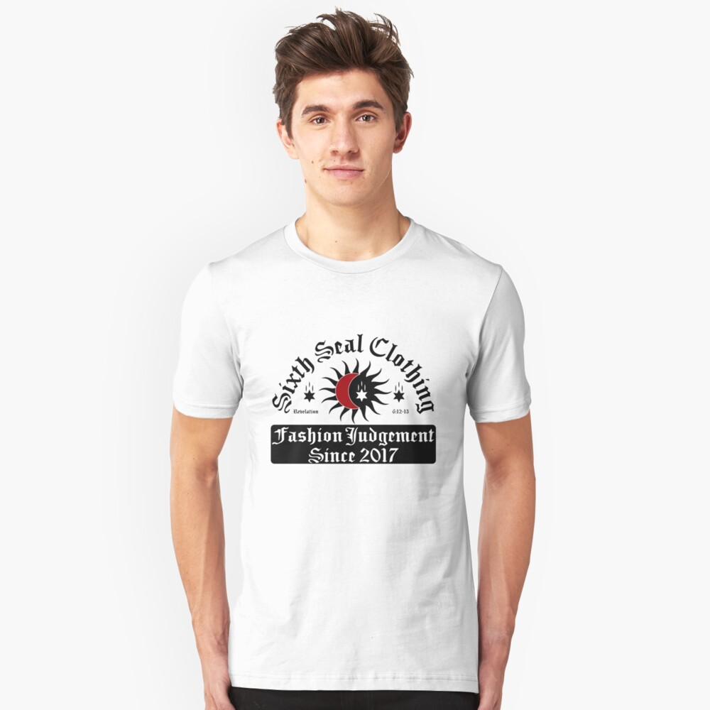 Sixth Seal Clothing Design Unisex T-Shirt Front