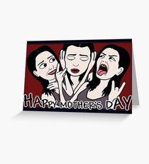 Mother's Day Craziness Greeting Card