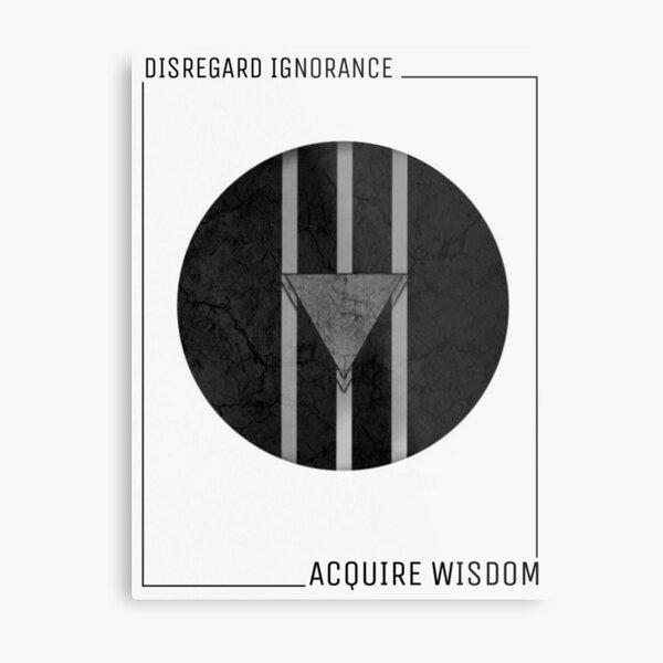 Advance Intellect V.1 Metal Print