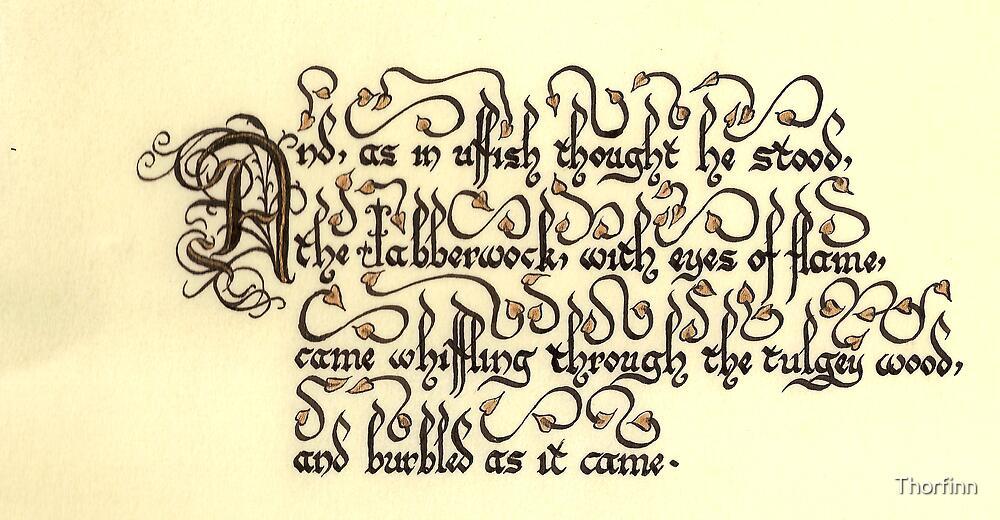 Jabberwock - verse 4 by Thorfinn