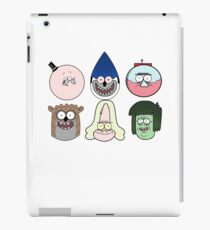 Regular show t_shirt cartoon iPad Case/Skin