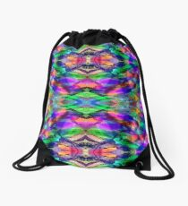 Color Bold, Color Bright Drawstring Bag