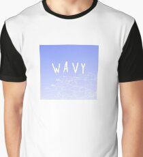 wavy Graphic T-Shirt