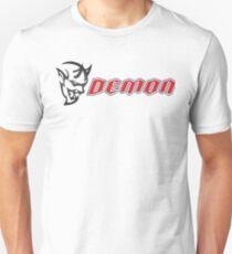 Ausweichen Dämon Slim Fit T-Shirt