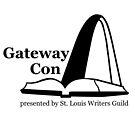 Gateway Con, black logo by StLWritersGuild