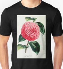 Flore Des Serres Et Des Jardins De L'Europe 1861 092 Pozzi Vera Unisex T-Shirt