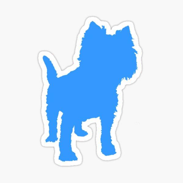 Pup Art - Terrier Two Sticker