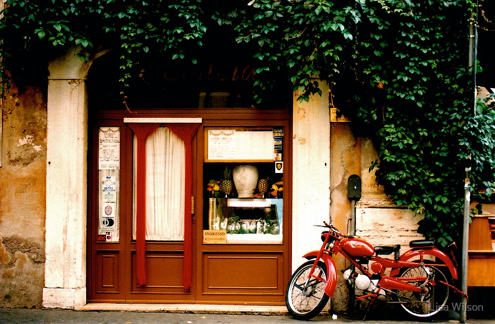 'Cecelias', Trastavere, Rome, Italy by Lisa Wilson