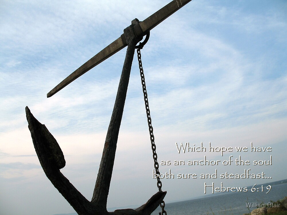 """""""Which hope we have"""" by William Blair"""