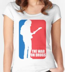 the war on drugs Women's Fitted Scoop T-Shirt