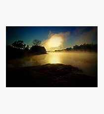 Windsor Beach In The Mist Photographic Print