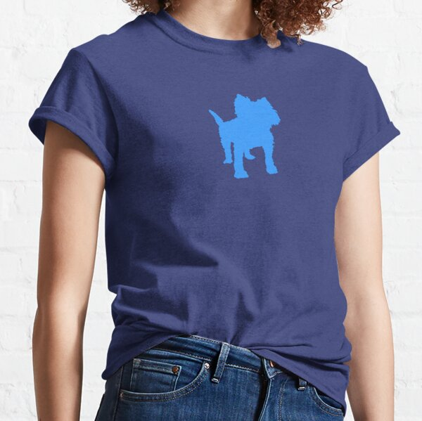 Pup Art - Terrier Two Classic T-Shirt