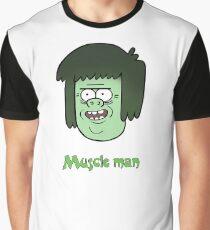 Regular show t_shirt cartoon, Muscle man Graphic T-Shirt