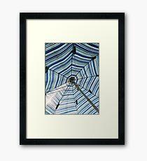 Beautiful Mundane 02 - Spider Web Umbrella Framed Print