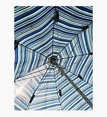 Beautiful Mundane 02 - Spider Web Umbrella Photographic Print