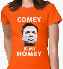 Comey is my homey black shirt Womens Fitted T-Shirt