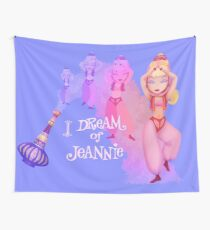 Jeannie in a Bottle Wall Tapestry