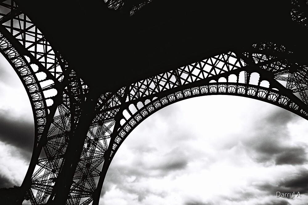 Eiffel clouds by Darryl A