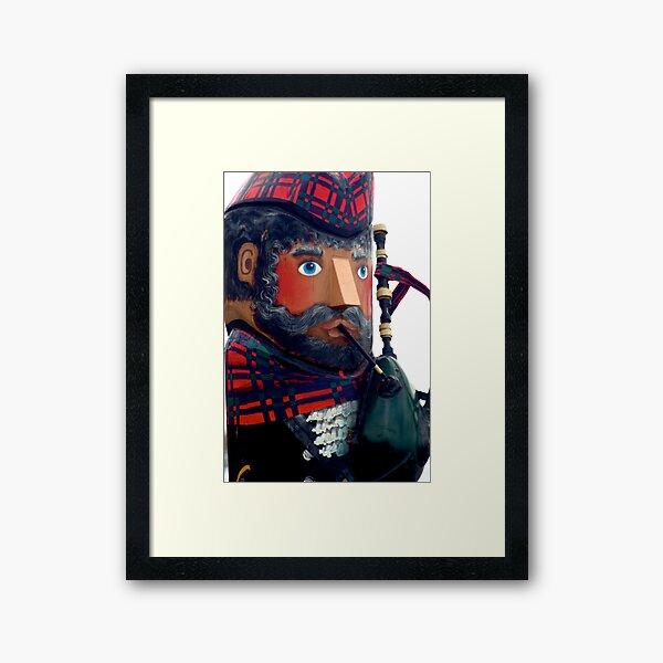 Hey Scotty  Framed Art Print