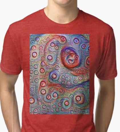 #DeepDream Water droplets on glass Tri-blend T-Shirt