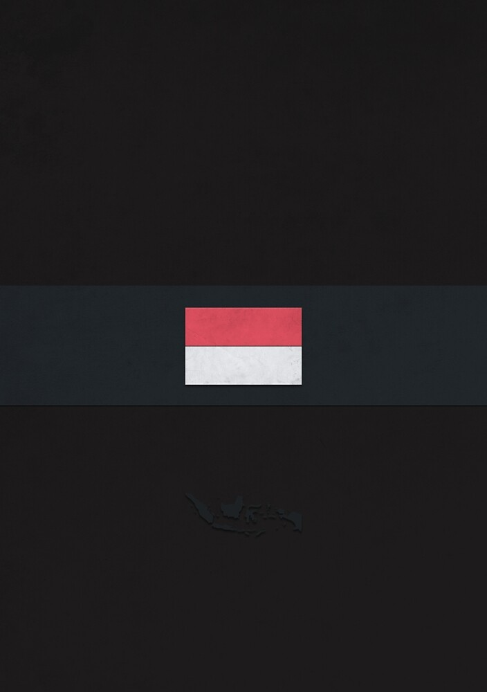 Indonesia by FlatFlags
