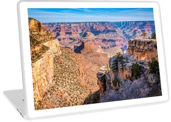 Morning at Bright Angel Trail - Grand Canyon by Danielasphotos