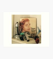 Vintage Hair Salon  Art Print