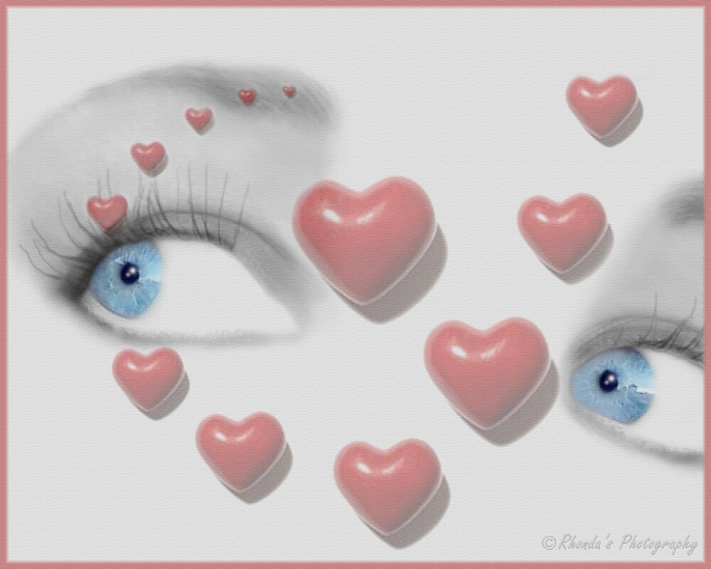 Be my valentine..... by Rhonda Ford