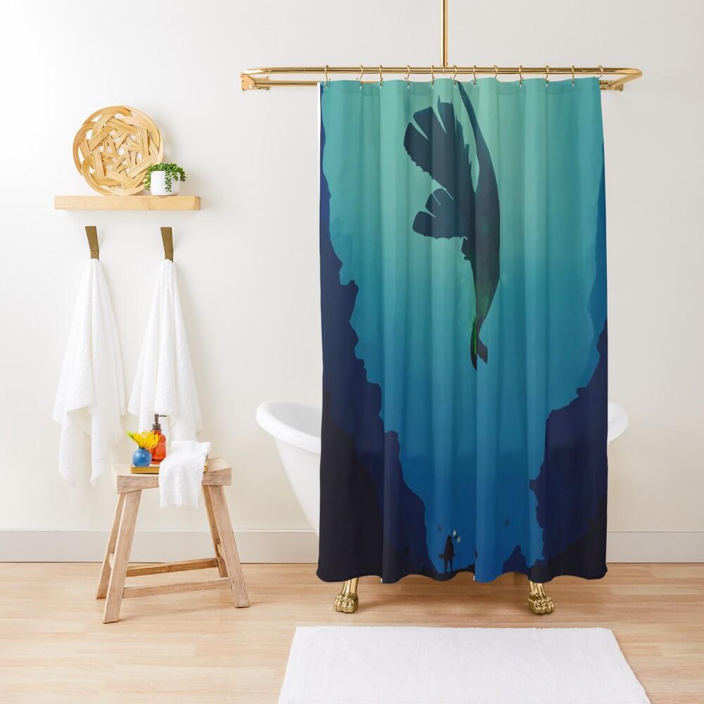 Lugia... Shower Curtain