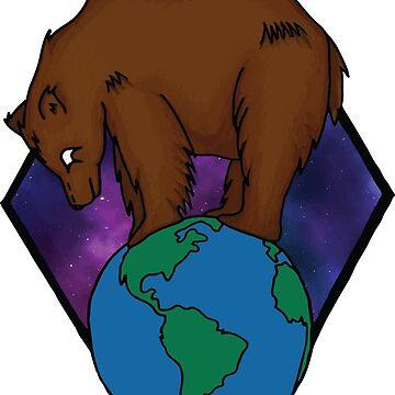 World Bear by seankhan
