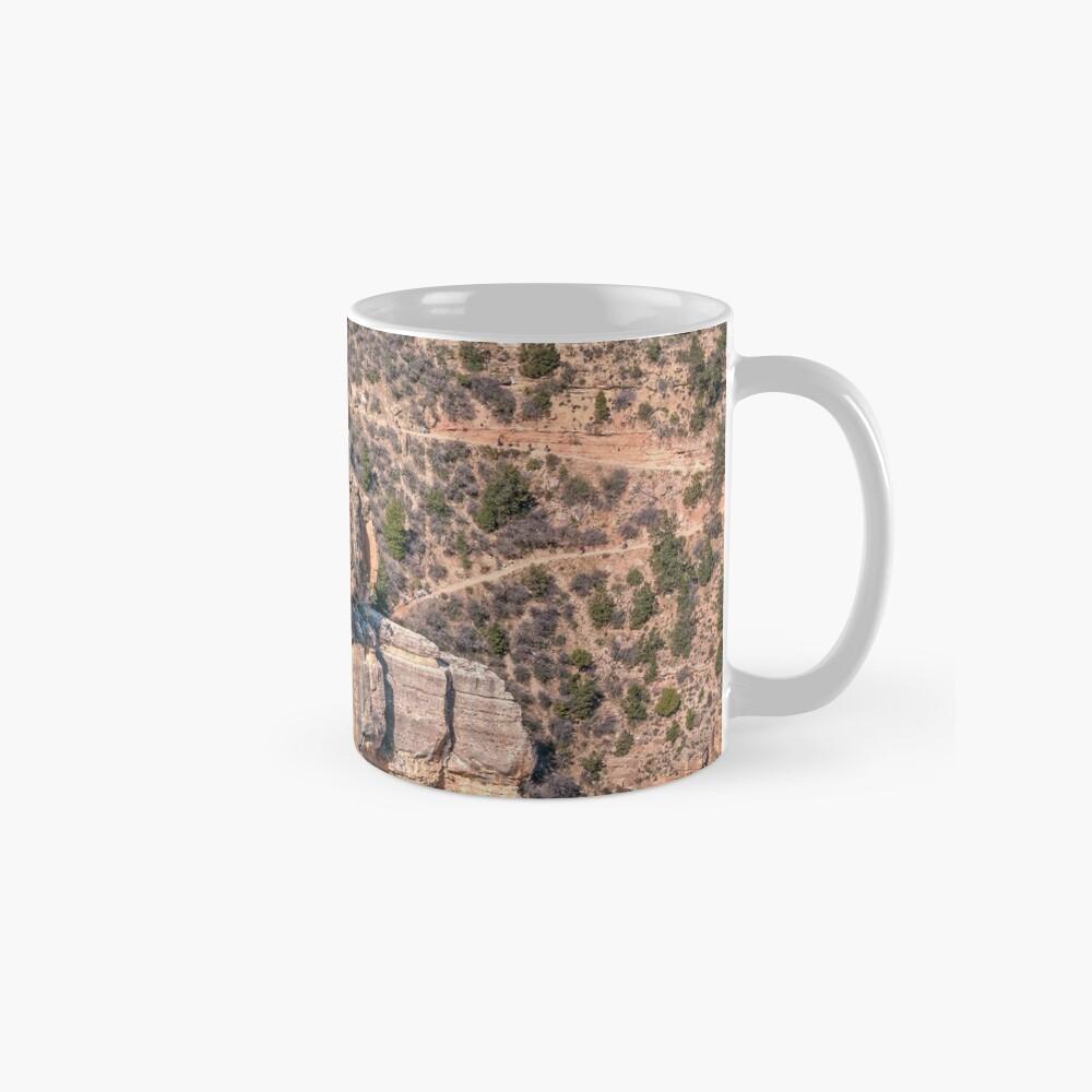 Angel's Window Rock on Bright Angel Trail in Grand Canyon Mug