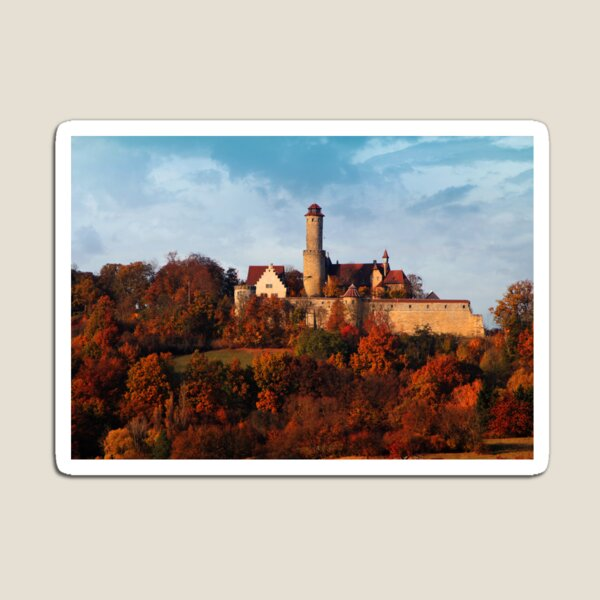 Altenburg by Bamberg - Germany Magnet