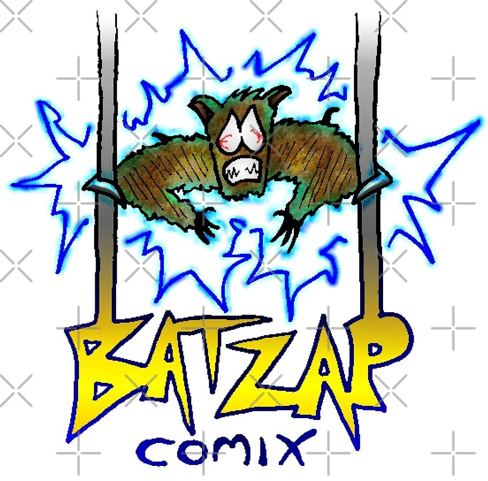 BatZap Comix logo by Chewfactor