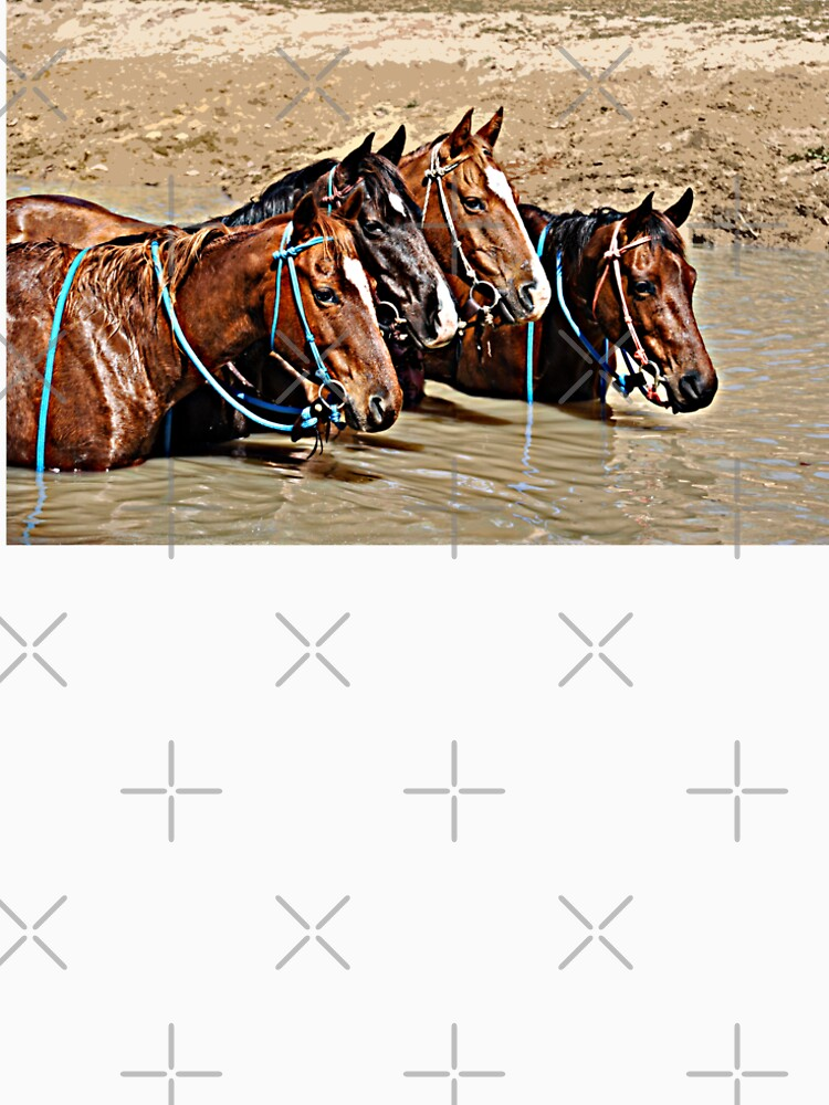 COOL WATERS - COOL HORSES by Tinpants