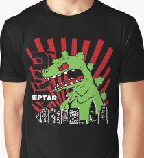 Camiseta gráfica Rugrats verdes de Reptar