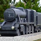 Railway Industry Memorial Sculpture by Yampimon